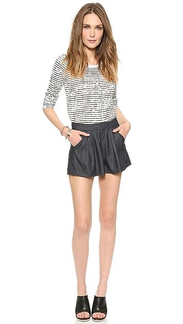 FRAME Le Culotte Shorts