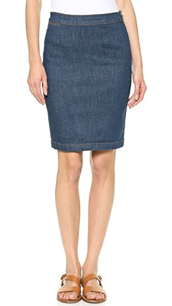 FRAME Le High Rise Pencil Skirt