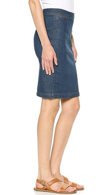 FRAME Le High Rise Pencil Skirt