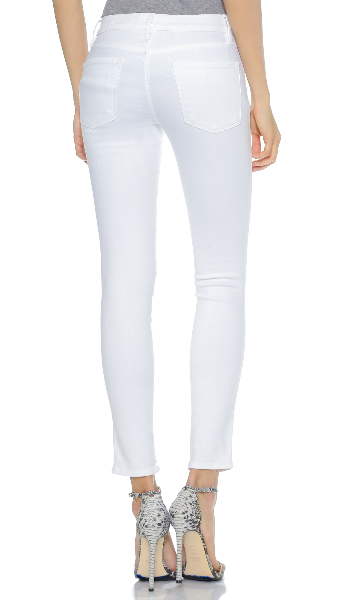9584cbd03c5 FRAME Le High Skinny Ripped Jeans | SHOPBOP