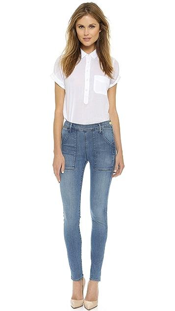FRAME Le Skinny De Francoise Jeans