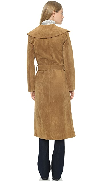 FRAME Le Suede Duster