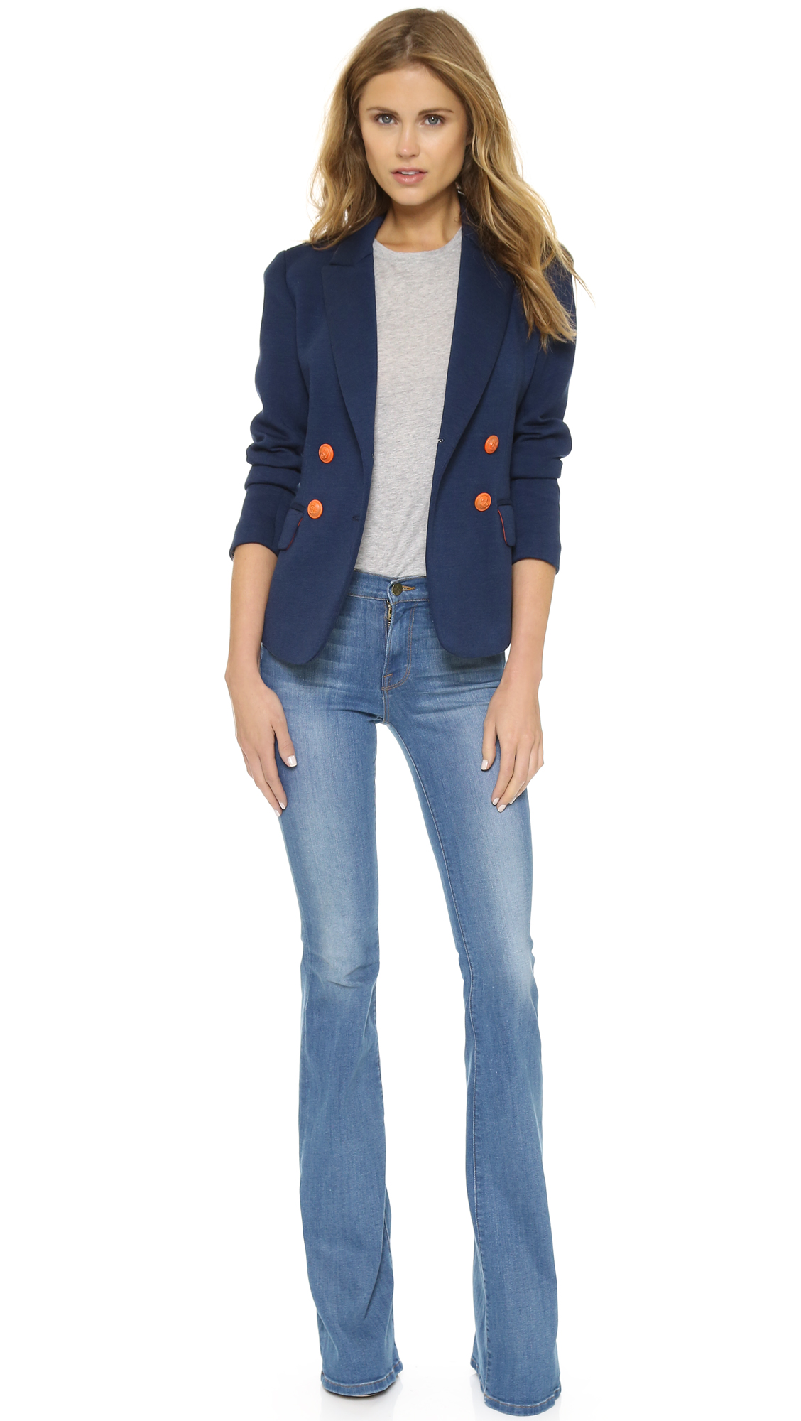 FRAME Forever Karlie Forever Tall Flare Jeans | SHOPBOP