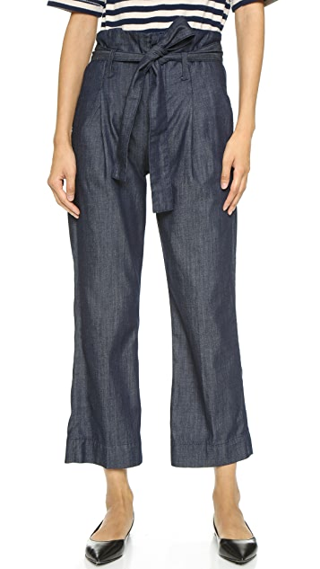 FRAME The Principle Paper Bag Trouser Jeans