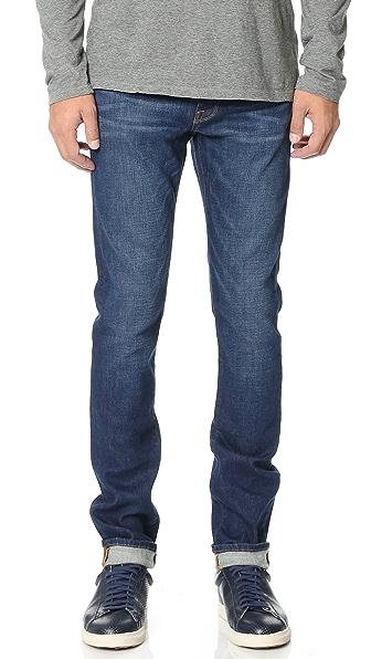 FRAME L'Homme Straight Leg Jeans