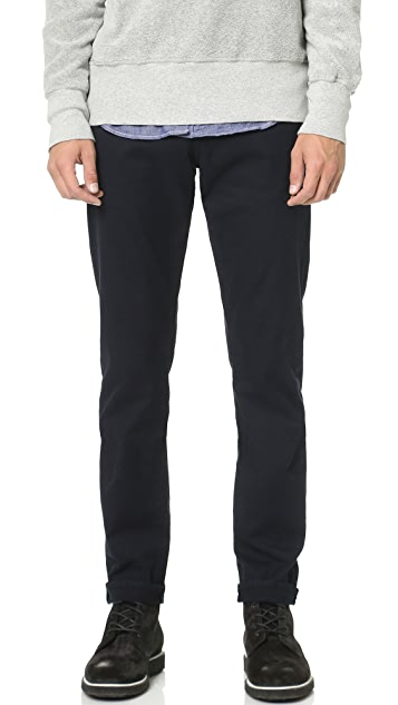 FRAME L'Homme Straight Leg Twill Jeans