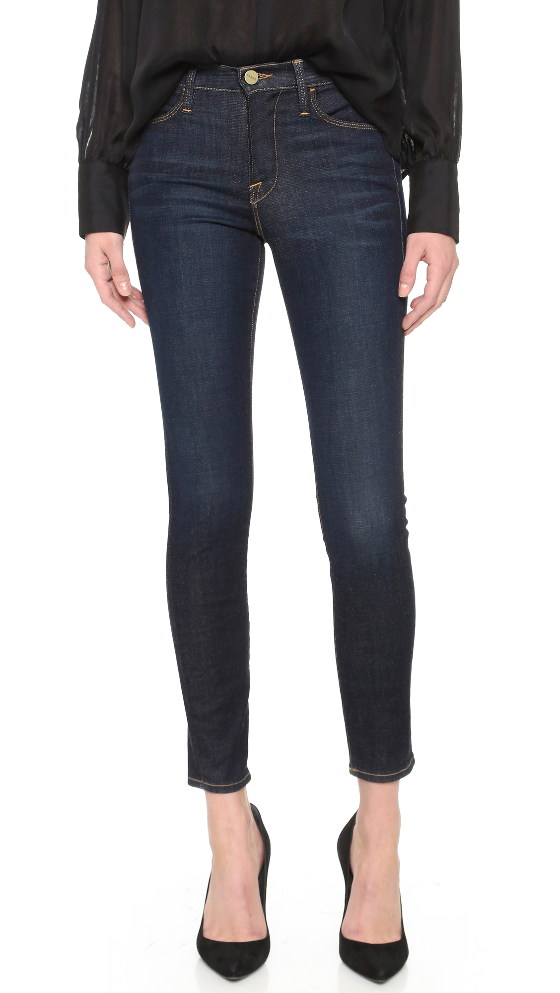 Le High skinny jeans Frame Denim Amazon Cheap Price Sale For Cheap sylW96IvIm