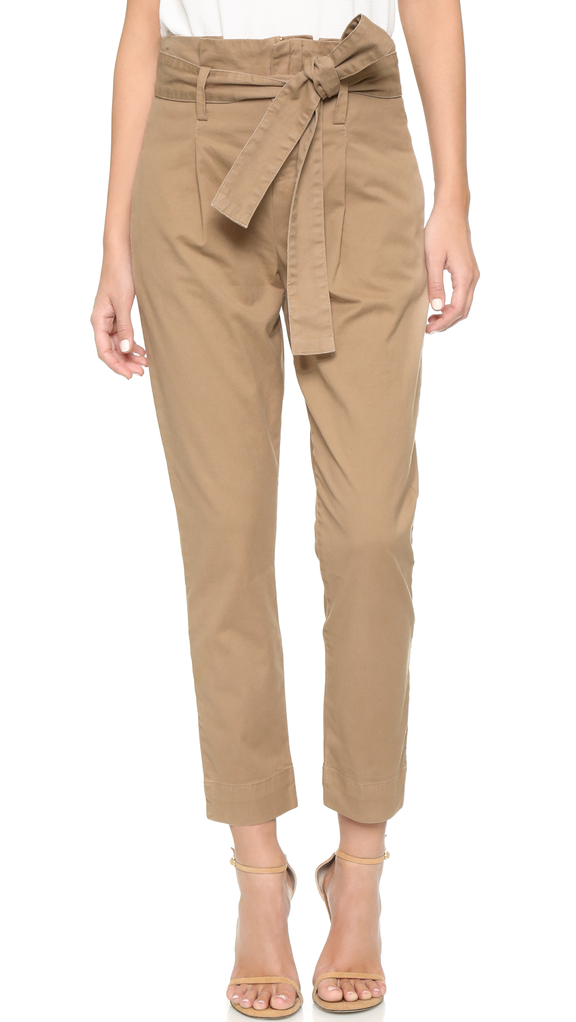 Paper bag trousers - Paper Bag Trousers 16