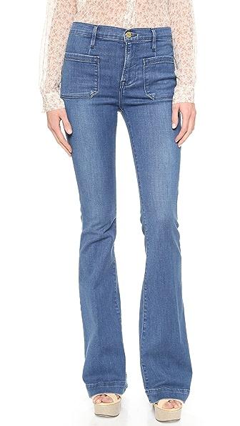 FRAME Le Bardot Flare Jeans