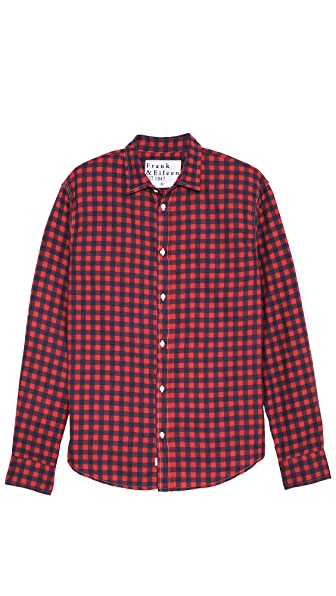 Frank & Eileen Paul Gingham Flannel Sport Shirt