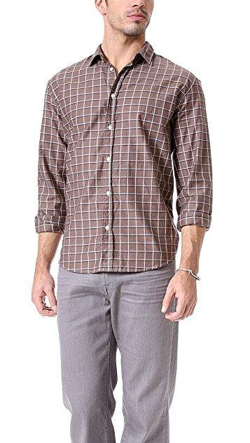 Frank & Eileen Plaid Sport Shirt