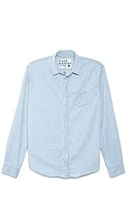 Frank & Eileen 1960s Woven Shirt