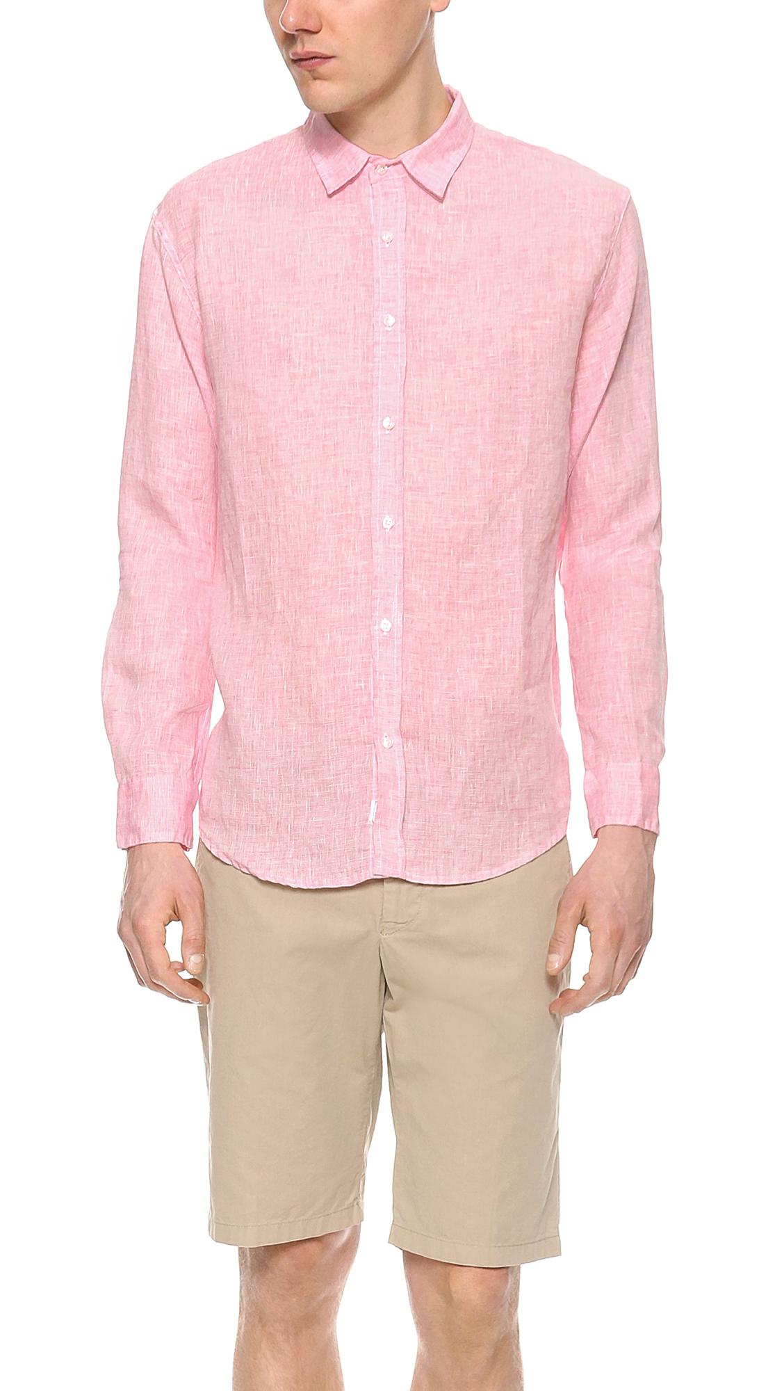 Frank Eileen Paul Linen Shirt East Dane