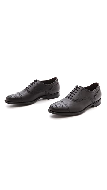 Fratelli Rossetti Pebbled Grain Derby Shoes