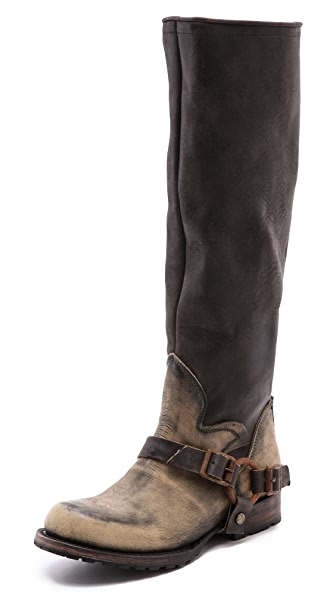 FREEBIRD by Steven Haven Zip back Tall Moto Boots