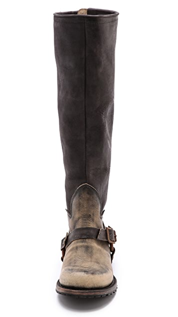 FREEBIRD by Steven Haven Zip back Tall Moto Boots