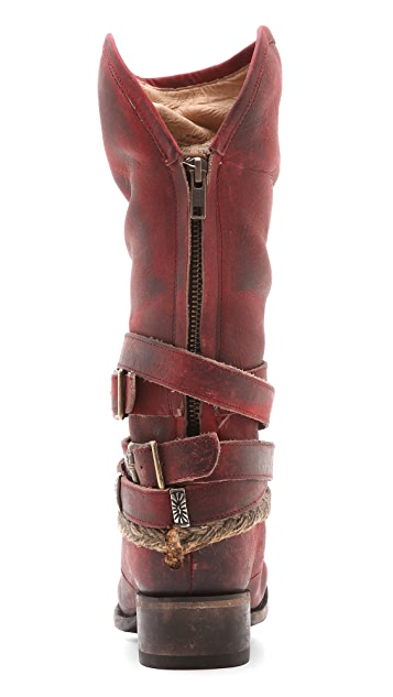FREEBIRD by Steven Drover Wrap Tall Boots