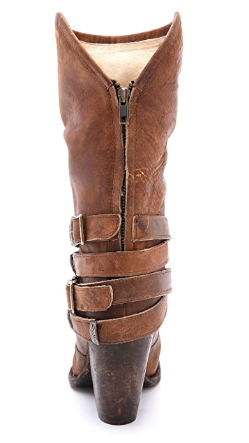 FREEBIRD by Steven Teagan Wrap Strap Boots