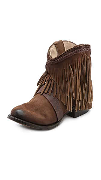FREEBIRD by Steven Dallas Fringe Booties