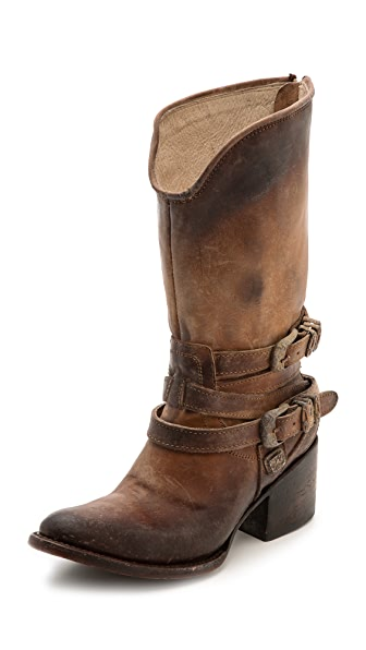 FREEBIRD by Steven Pikes Wrap Strap Boots