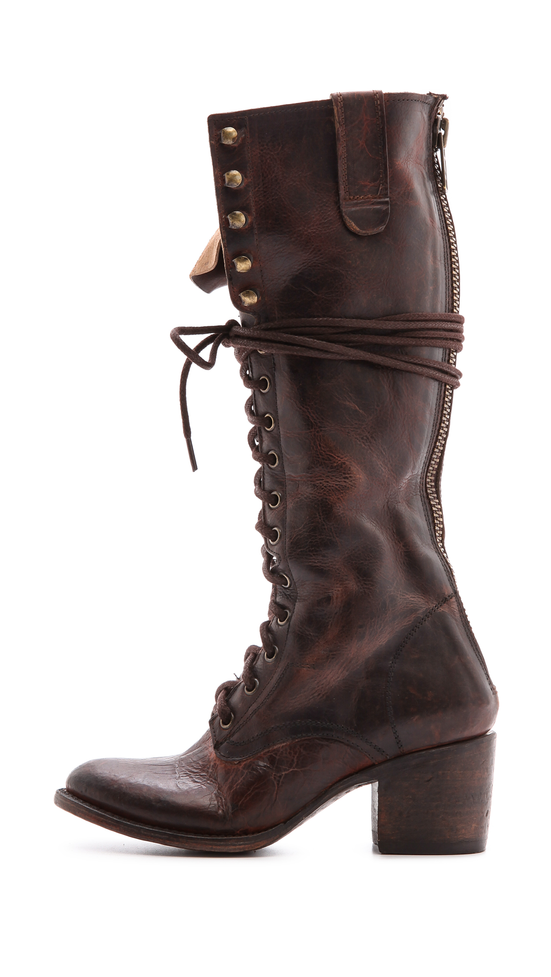 6871a5f1b20598 FREEBIRD by Steven Granny Tall Combat Boots | SHOPBOP
