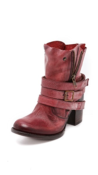 FREEBIRD by Steven Bama Wrap Strap Booties