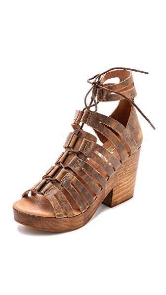 FREEBIRD by Steven Ibiza Lace Up Sandals