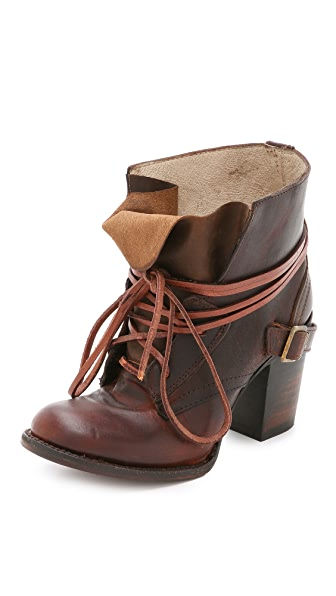 FREEBIRD by Steven Billy Lace Up Booties