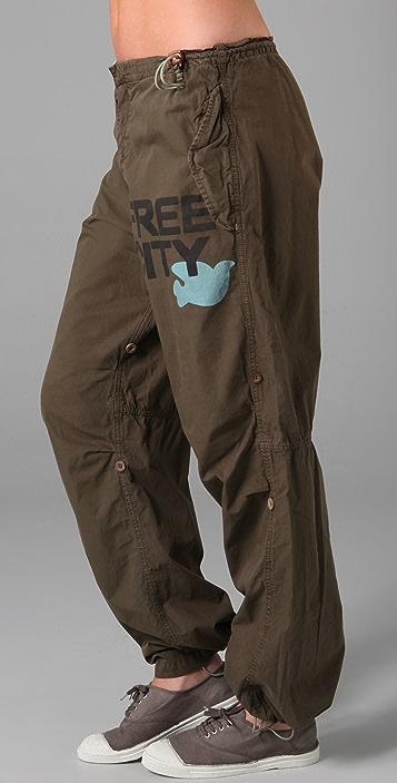 FREECITY Convertible Maharishi Twill Pants