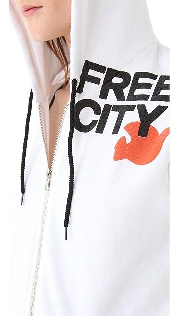 FREECITY FREECITY Zip Hoodie