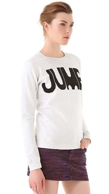 FREECITY Jump Raglan Sweatshirt