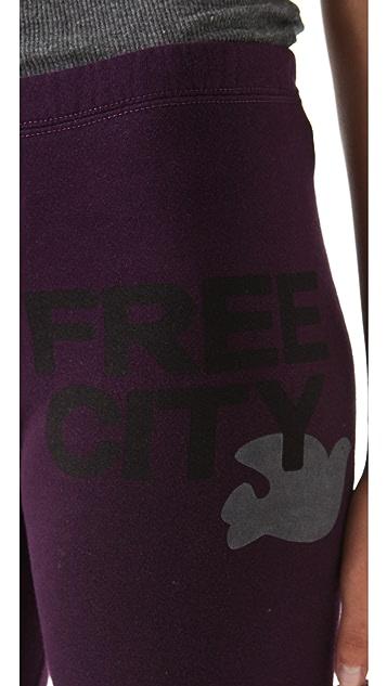 FREECITY FREECITY Large Sweat Shorts