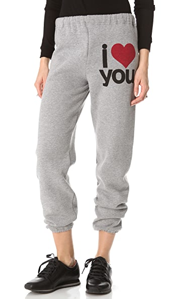 FREECITY I Love You Sweatpants