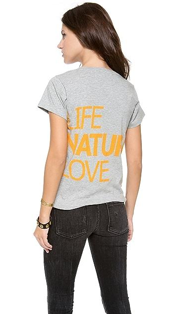 FREECITY Life Nature Love Tee