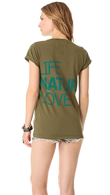 FREECITY Life Nature Love Tee