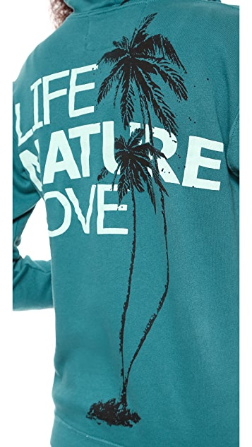 FREECITY Life Nature Love Zip Hoodie