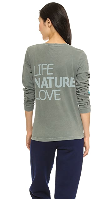 FREECITY Lets Go LNL Palm Tee with Long Sleeves