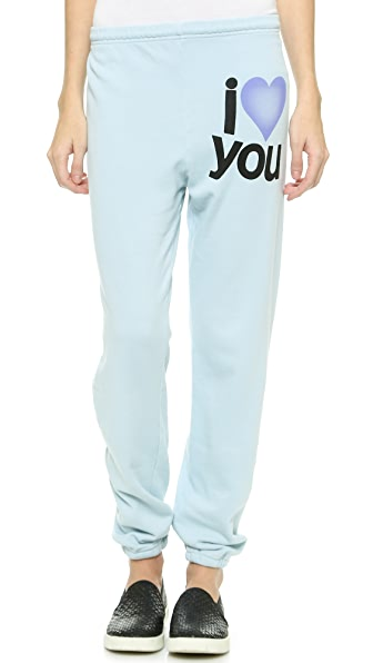 FREECITY Love You Super Beat Sweatpants