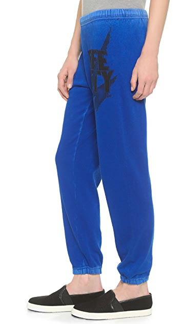 FREECITY Bolt Feather Weight Sweatpants