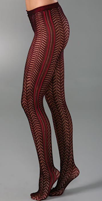Free People Double Dye Tights