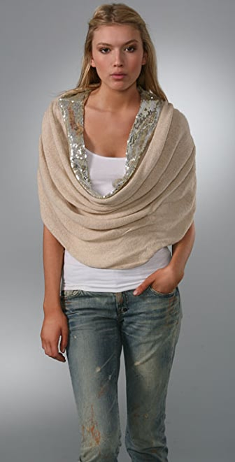 Free People Convertible Sequin Cowl