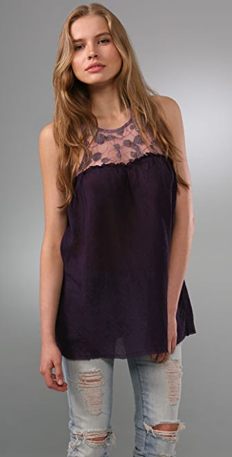 Free People Grecian Gauze Tunic