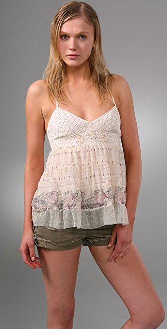 Free People Danielle's Apron Camisole