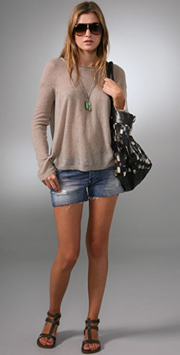 Free People Carillon Solid Sweater