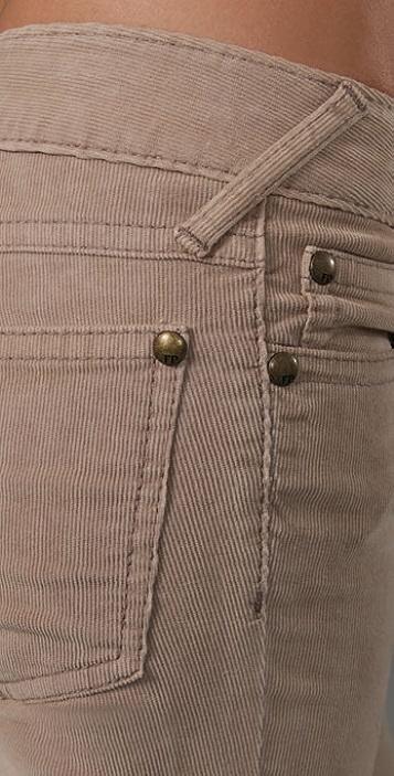 Free People Super Skinny 5 Pocket Corduroy Pants