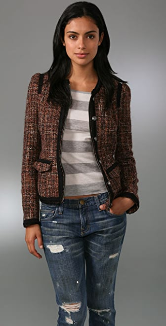 Free People Coco Tweed Jacket
