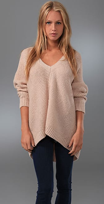 Free People Barely Brush Pullover Sweater