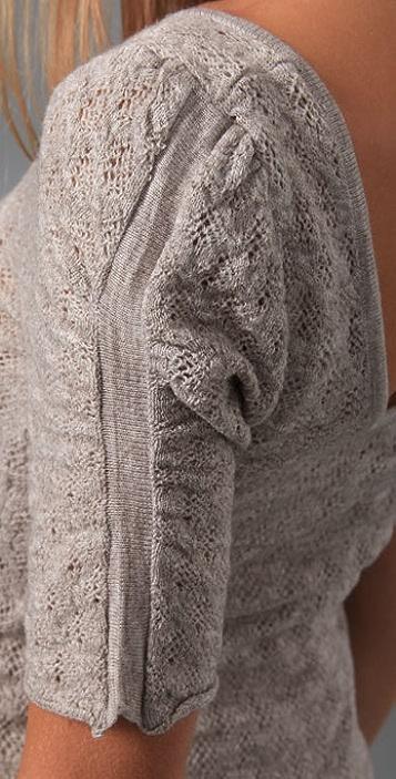 Free People Puff Sweater Dress