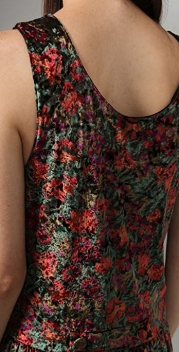 Free People Crushed Floral Dress