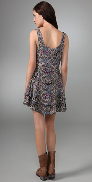 Free People Run Free Flared Dress